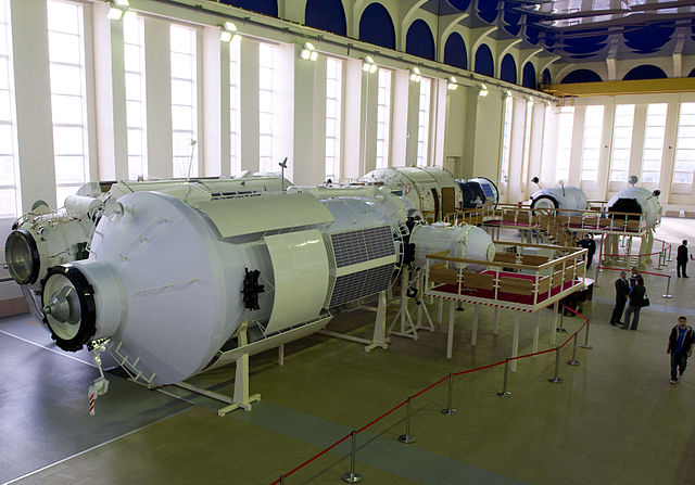 Nauka training mockup at the Gagarin Cosmonaut Training Center in 2012 (Photo NASA/Carla Cioffi)