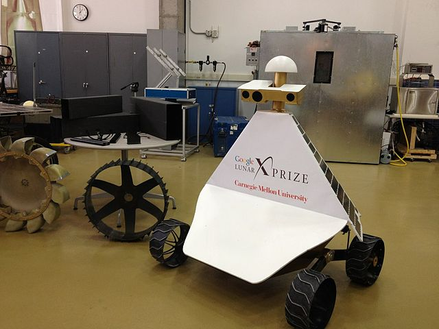 Rover prototype developed at Carnegie Mellon University
