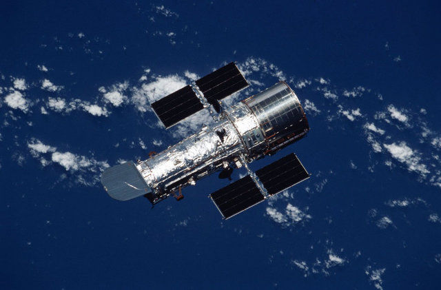 The Hubble Space Telescope (Photo NASA)