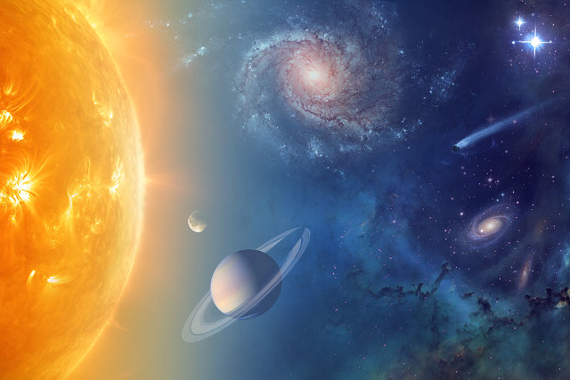 NASA is studying the presence of water in the solar system and beyond also in connection with the search for alien life form (Image NASA)