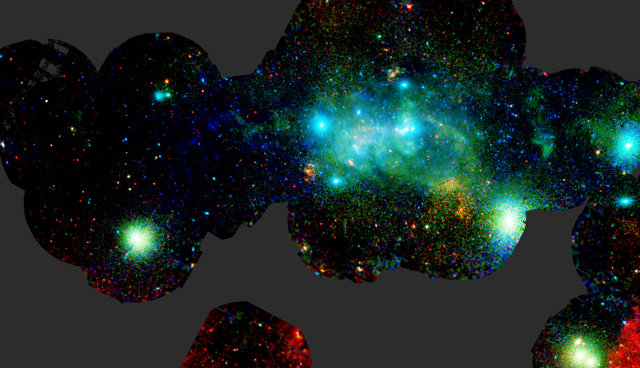 X-ray view of the Milky Way center (Image ESA/XMM-Newton/G. Ponti et al. 2015)