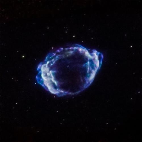 The supernova G1.9+0.3 (Image NASA/CXC/CfA/S. Chakraborti et al.)