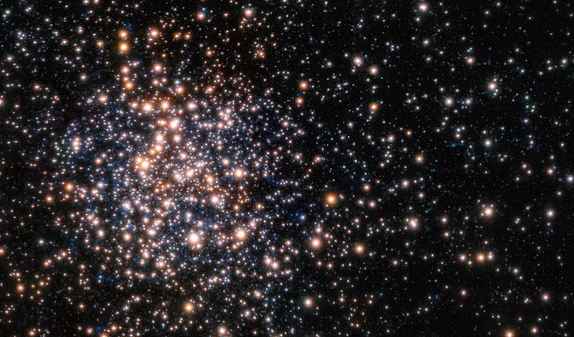 The globular cluster Terzan 5 seen by the MAD on the VLT (Image ESO/F. Ferraro)