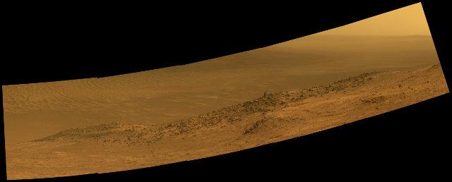 Wharton Ridge (ImageNASA/JPL-Caltech/Cornell/Arizona State Univ.)