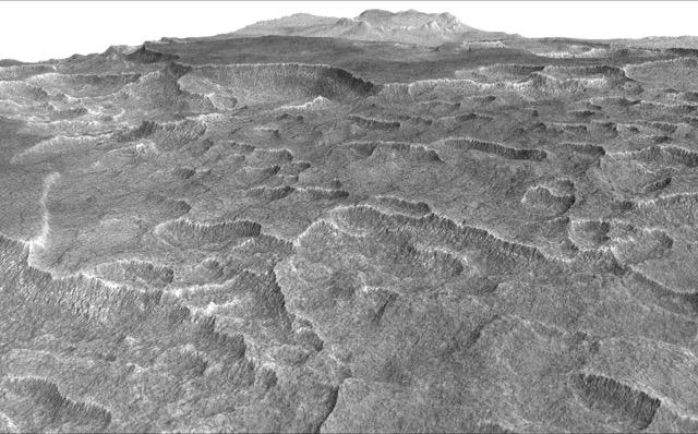 Utopia Planitia (Image NASA/JPL-Caltech/Univ. of Arizona)