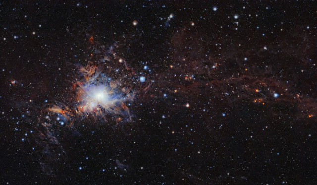 Global view of the Orion A molecular cloud (Image ESO/VISION survey)