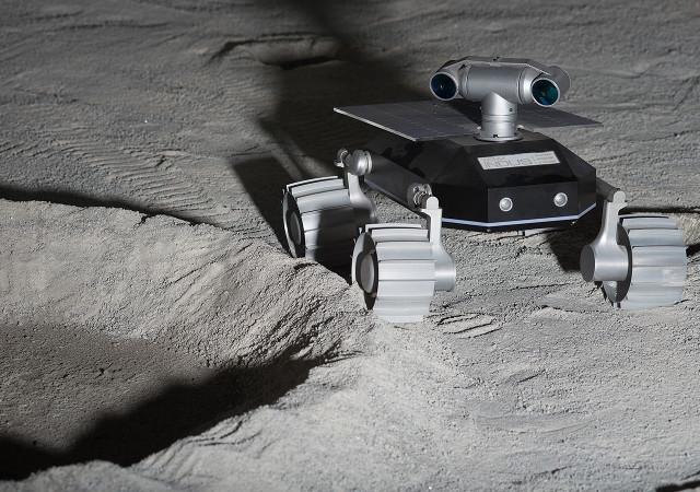 TeamIndus' rover (Image courtesy TeamIndus)
