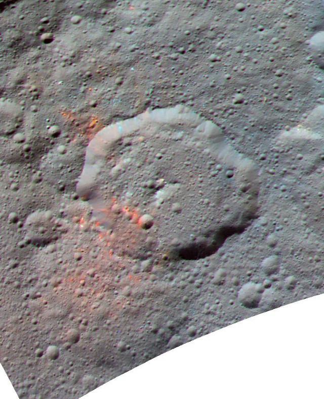 Ernutet Crater (Image NASA/JPL-Caltech/UCLA/MPS/DLR/IDA)
