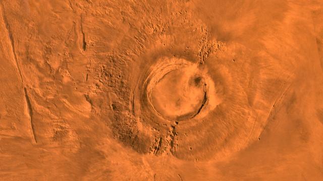 Arsia Mons (Image NASA/JPL/USGS)