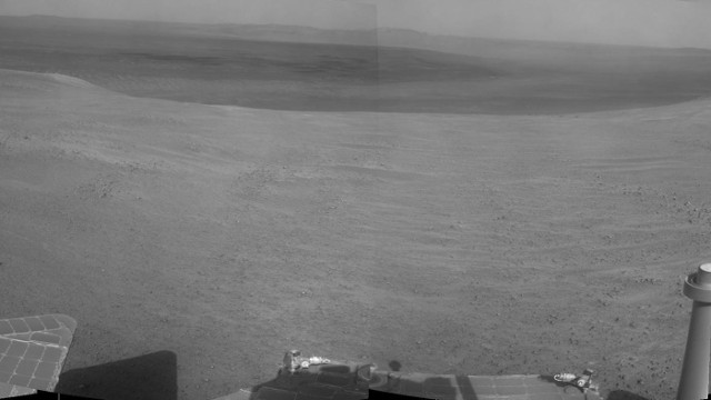 A panorama of the area accessing Perseverance Valley (Image NASA/JPL-Caltech)