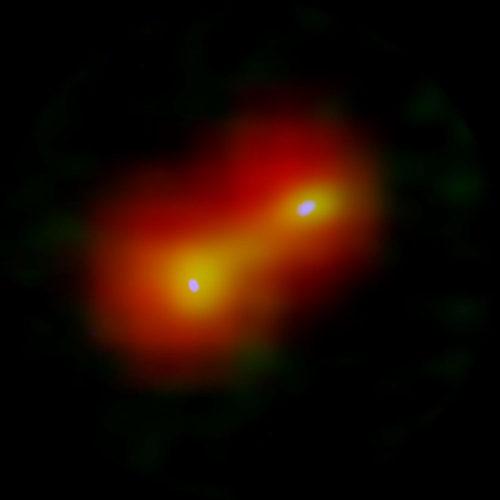 The IRAS 04191+1523 system (Image ALMA (ESO/NAOJ/NRAO), Lee et al., ESA/Herschel/PACS)