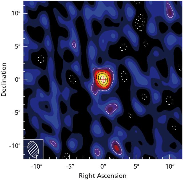 The Quasar J1342+0928 (Image courtesy Mpia / Venemans et al.)