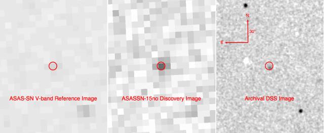 ASASSN-15no (Image courtesy ASAS-SN / DSS)