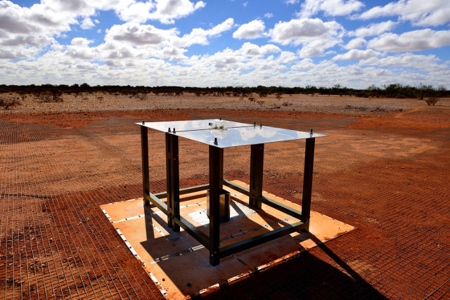 The EDGES instrument (Image courtesy CSIRO. All rights reserved)