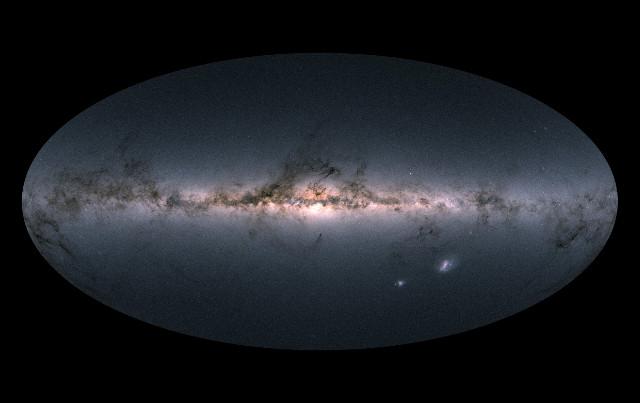 Gaia's sky DR2 map (Image ESA/Gaia/DPAC)