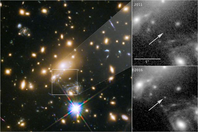 Icarus (MACS J1149+2223 Lensed Star 1)