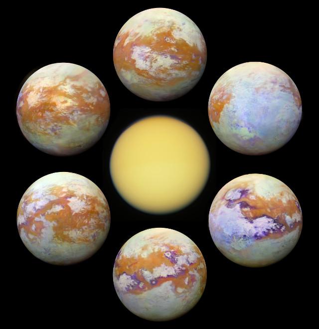 Titan (Image NASA/JPL-Caltech/University of Nantes/University of Arizona)