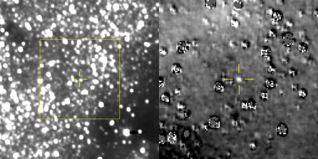 The New Horizons space probe has photographed its next target Ultima Thule