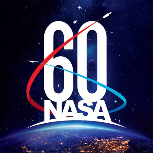 NASA's 60th anniversary logo (Image NASA)