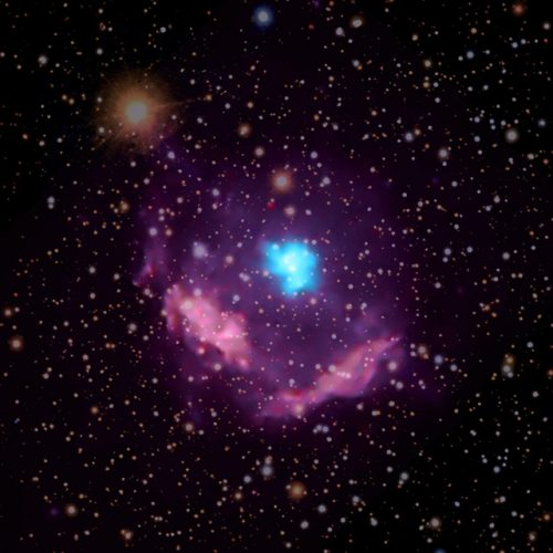 A new study of the youngest pulsar discovered in the Milky Way