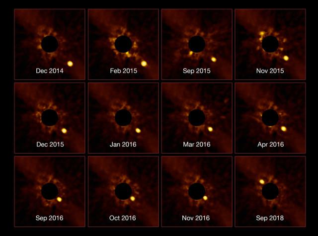 Beta Pictoris b (Image ESO/Lagrange/SPHERE consortium)