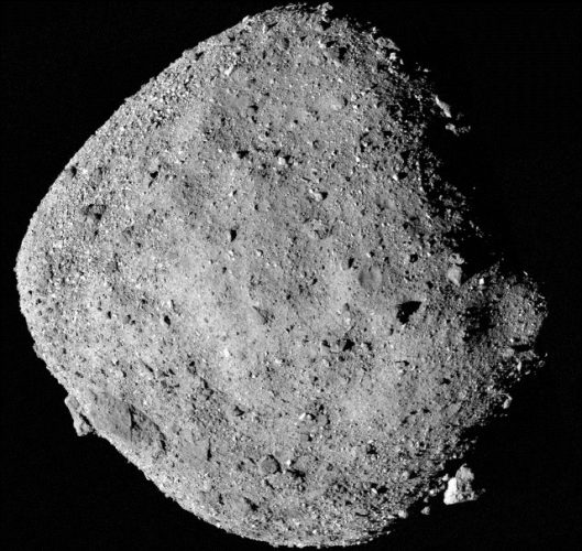 Asteroid Bennu (Image NASA/Goddard/University of Arizona)