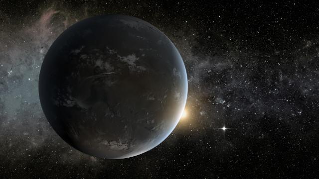 Artist's concept of Kepler-62f, an exoplanet orbiting a K-class star (Image NASA Ames/JPL-Caltech/Tim Pyle)