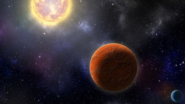 The first Earth-sized exoplanet identified thanks to the TESS space telescope
