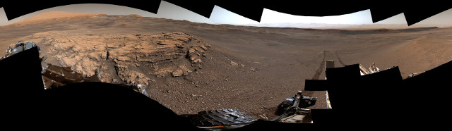 In ancient times there was a dynamic environment in Gale Crater on Mars