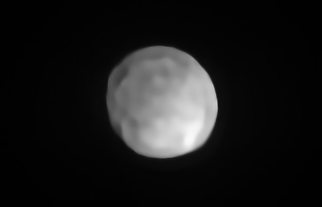 Asteroid Hygiea is spherical and could be reclassified as a dwarf planet