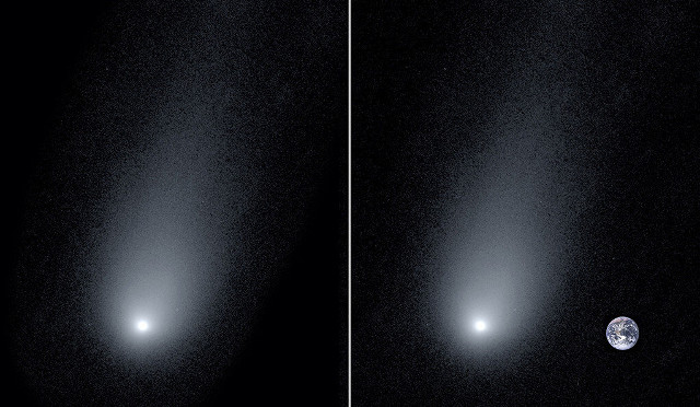 Interstellar comet 2I/Borisov seen from the Keck Observatory