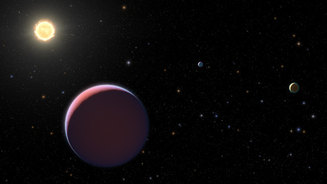 """The """"cotton candy exoplanets"""" of the Kepler 51 system studied with the Hubble Space Telescope"""