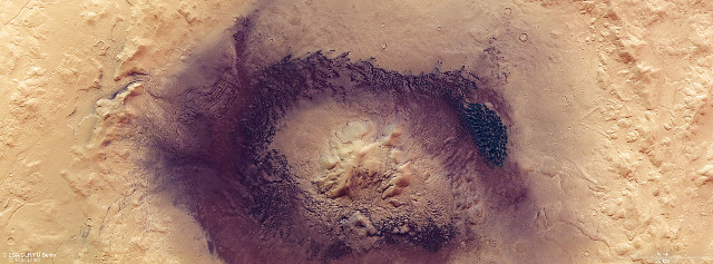 Moreux Crater on Mars