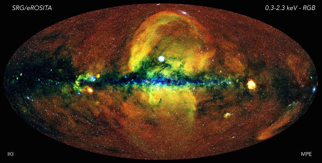 The sky seen at X-rays by eROSITA