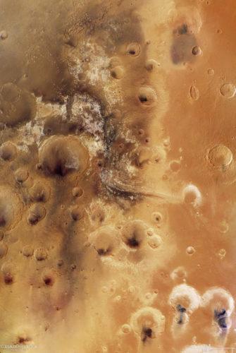 View of Mawrth Vallis (Image ESA/DLR/FU Berlin, CC BY-SA 3.0 IGO)