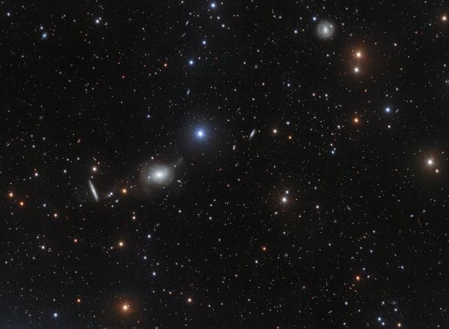 The sky around NGC 5018