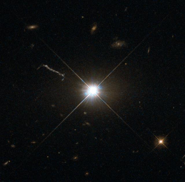 The quasar 3C 273 (Image ESA/Hubble & NASA)