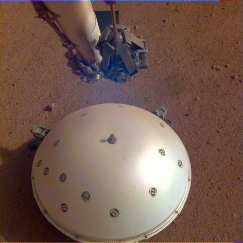 A possible earthquake detected on Mars by the InSight lander