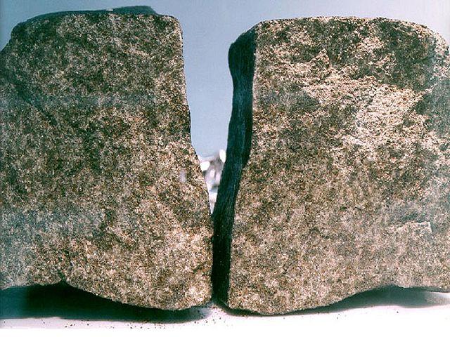 Nakhla meteorite (Photo NASA)