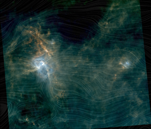 The Aquila Rift star-forming complex viewed by Herschel and Planck (Image ESA/Herschel/Planck; J. D. Soler, MPIA)