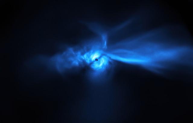 The SU Aurigae system (Image ESO/Ginski et al.)